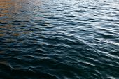 Light Playing On The Sea Surface. Water Surface. Sea Surface. Water Background. poster