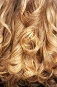 stock photo of hair streaks  - close - JPG