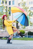 Stay Positive Fall Season. Colorful Fall Accessory Positive Influence. Ways Brighten Your Fall Mood. poster