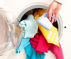 picture of washing machine  - Close - JPG