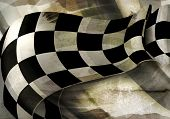 picture of motocross  - Background Horizontal Checkered - JPG
