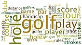 Golf-Tag-Cloud