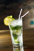 stock photo of mojito  - mojito cocktail - JPG