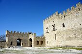 Old Castle Of Rhodes  Medieval Period poster