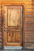 Постер, плакат: Старые деревянные двери