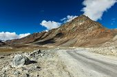 picture of manali-leh road  - Manali - JPG