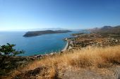 Plaka village and Spinalonga island, Crete