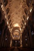 foto of church interior  - Interior view of church in Quebec Canada - JPG