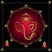 picture of ganpati  - Ganesha Greeting - JPG