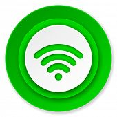 stock photo of movable  - wifi icon - JPG