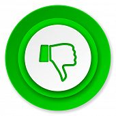 picture of dislike  - dislike icon - JPG
