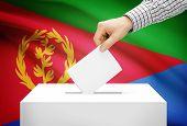 stock photo of eritrea  - Voting concept  - JPG