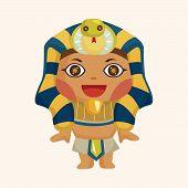 pic of pharaohs  - pharaoh theme elements - JPG