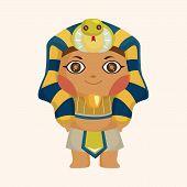 picture of pharaohs  - pharaoh theme elements - JPG
