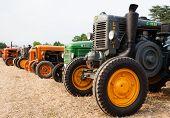 Постер, плакат: Old Tractors