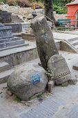 image of buddhist  - Buddhist stupa  - JPG