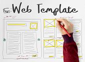 Develop Coding Web Design Coding Web Template poster