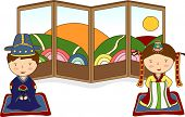 picture of hanbok  - Wedding Story - JPG