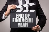 End of Financial Year poster