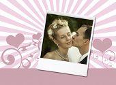 Постер, плакат: свадебный поцелуй
