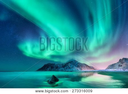 Aurora Borealis Northern Lights In
