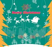 Постер, плакат: Веселый Рождество Крис