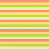 Horizontal Stripes Yellow Green Peach Pattern. Horizontal Striped Seamless Vector Background. Great  poster