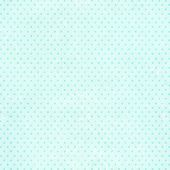 Retro background in shabby chic style with dots and paper texture of blue color poster