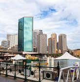 View of Circular Quay, Sydney, New South Wales, Australia. poster