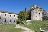pic of giannena  - Its Kale castle at Ioannina city in Greece - JPG