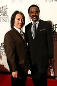 NEW YORK-SEPT. 24: Singer Chuck Jackson (R) and Toya attend the 27th annual Great Sports Legends Din