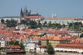 General View Of The Prague Castle