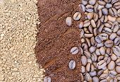 picture of coffee grounds  - Coffee Beans - JPG