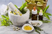 stock photo of naturopathy  - Alternative Medicine - JPG