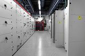 picture of substation  - Control room of a thermal power plant - JPG