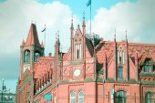 stock photo of old post office  - Poland  - JPG