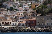 stock photo of hydra  - Marina Greece Island of Hydra - JPG