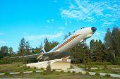 TU-134 monument poster