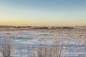 picture of siberia  - Nature of Western Siberia winter frost sketches mine 35 degrees Celsius. ** Note: Soft Focus at 100%, best at smaller sizes - JPG