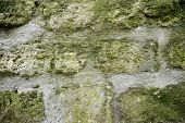 image of homogeneous  - Stone wall background at high resolution - JPG