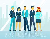 picture of seminar  - Business people - JPG