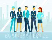 stock photo of communication people  - Business people - JPG