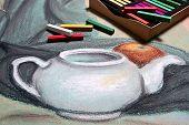 image of pastel  - Artist - JPG