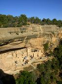 Ancient Cliff Dwellings Of Mesa Verde poster