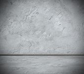 stock photo of plinth  - grunge interior - JPG