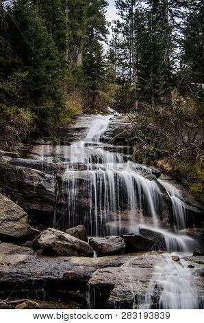 Whitney Portal Falls Located At