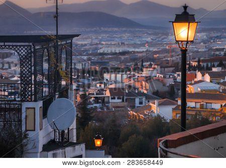 Street Lamps Light The Way