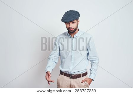 Russian Mafia Brutal Bearded Man