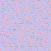Tie Dye Japanese Geometric Organic Seamless Pattern. Boho Tie Dye Vector Batik. Geo Wabi Sabi Bohemi poster