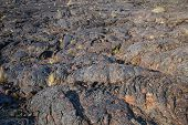 Lava Flow Field In Craters Of The Moon National Monument, Idaho, Usa. The Monument Represents One Of poster